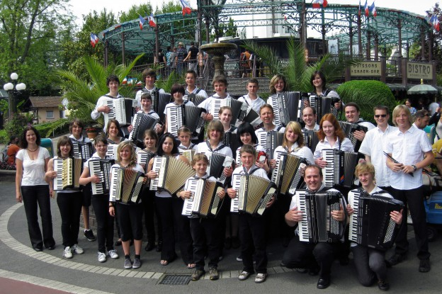 Jugendorchester im Europa-Park